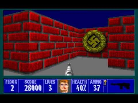 Let's Play Wolfenstein 3D 19: A Secretive Puzzle