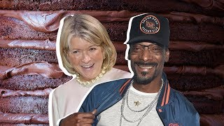Martha Stewart Vs. Snoop Dogg: Whose Chocolate Cake Is Better?