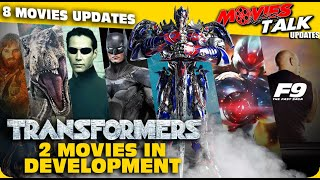 TRANSFORMERS New Two Movies In Development & More 8 Movies Updates [Explained In Hindi]