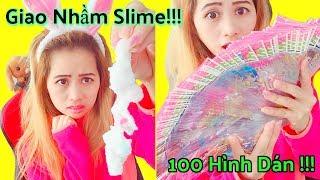 Mua Slime Siêu Rẽ 16k Và Cái Kết _ 100 Hình Dán Búp Bê Dress Up Dolls