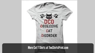 Cat Tee Shirts With Funny Sayings