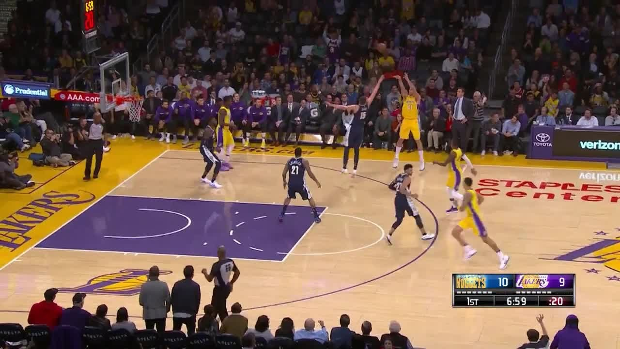 1st Quarter One Box Video Los Angeles Lakers Vs Denver