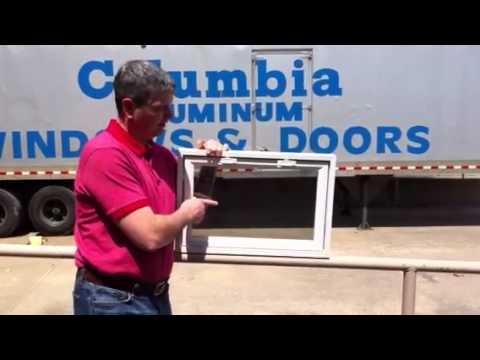 Basement Windows Vinyl Awning Vinyl Hopper Window Youtube