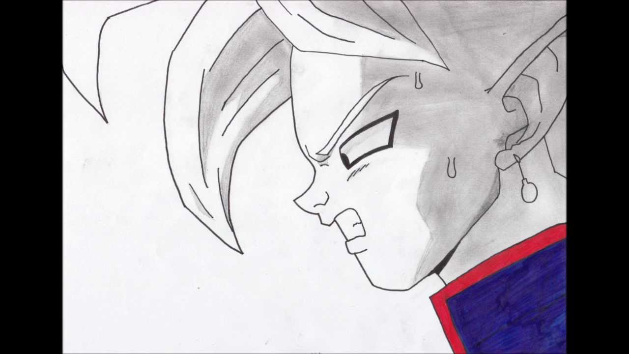 Dessin de kaiohshin dans dbz youtube - Dessin dragon ball z facile ...