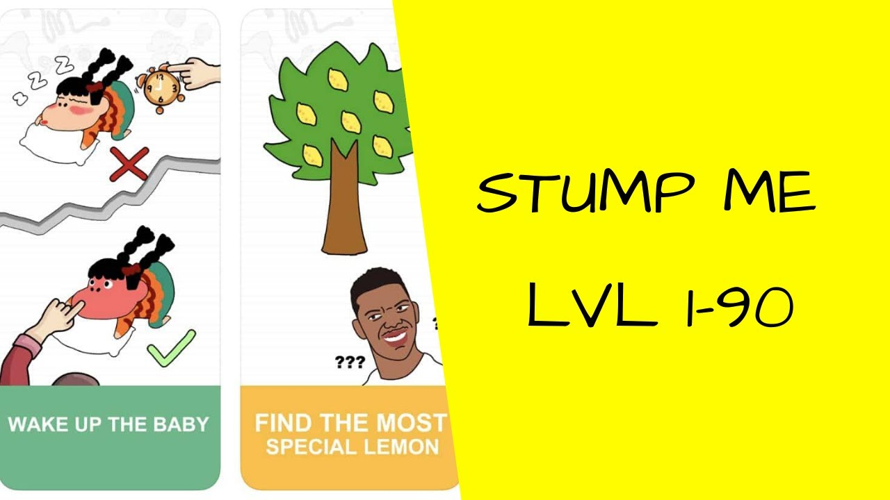 Stump Me Game Level 1-90 - YouTube