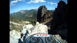 CHIMNEY ROCK TRAIL, SIERRA COUNTY, DOWNIEVILLE CA. KTM 200- NARRATED