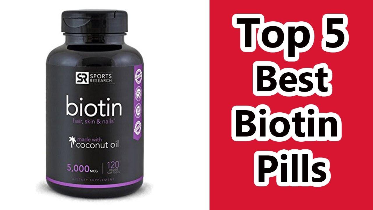 Biotin hair development