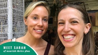 Lunching and Learning with Nourish Thrive Glow at Root & Bloom Cafe