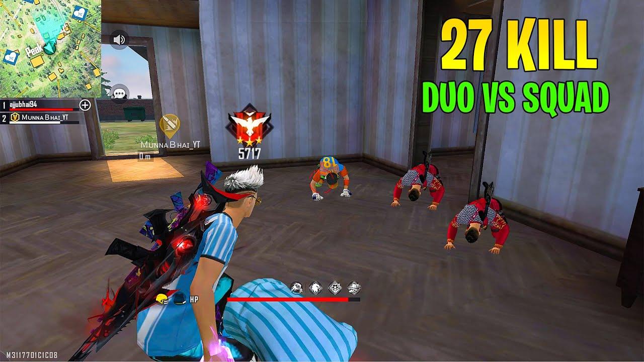 Heroic 5700+ Score Lobby Ajjubhai and Munnabhai Best Op Gameplay - Garena Free Fire- Total Gaming