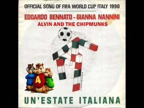 Edoardo Bennato feat Gianna Nannini - Un'estate italiana (versione di Alvin and the Chipmunks) + T