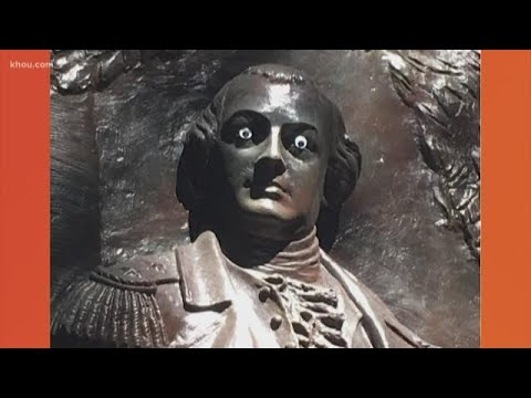 Scott Sloan - VIDEO: Vandals Paste Googly Eyes On Historic Monument In Savannah