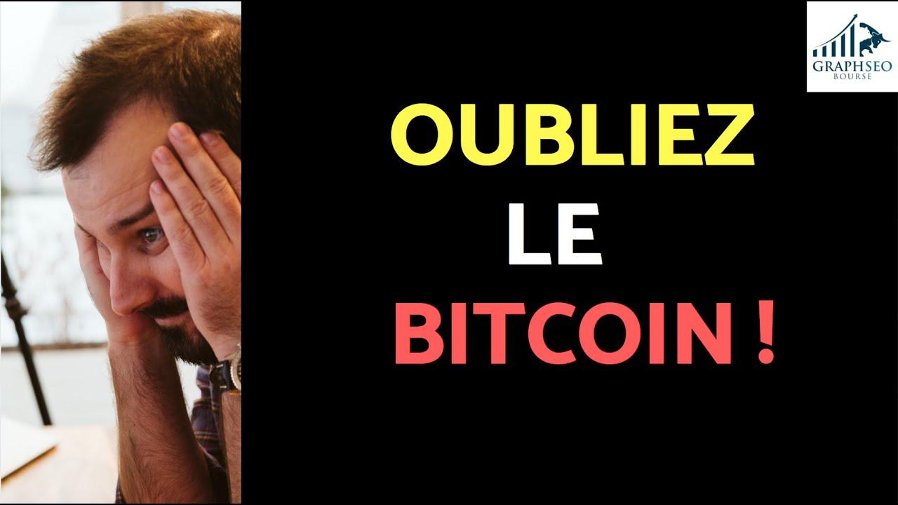 Oubliez le BITCOIN | mort et vie de la Crypto de demain !