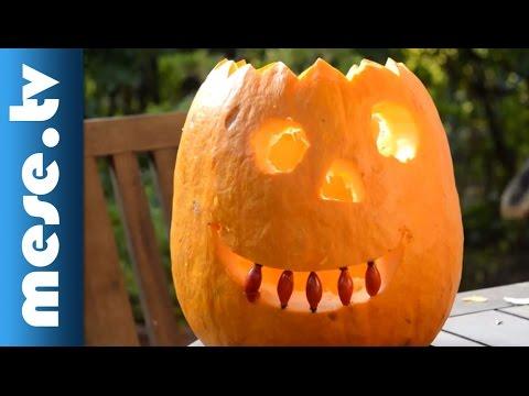 youtube filmek - Kati-Patika - Mesés tökfaragás (Halloween)