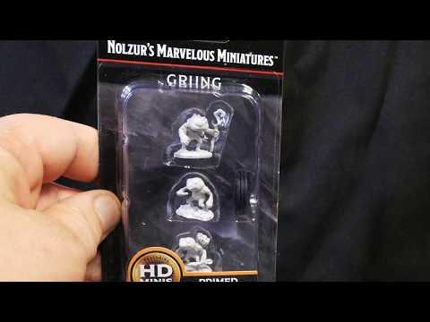 Wave 10 Grung Dungeons /& Dragons Nolzurs Marvelous Unpainted Miniatures