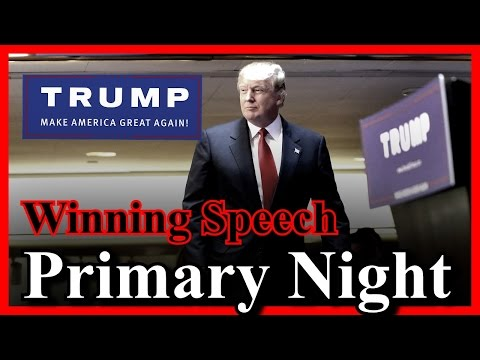 LIVE Donald Trump Primary Night CLEAN SWEEP WINNING SPEECH Press Conference Trump Tower Victory ✔