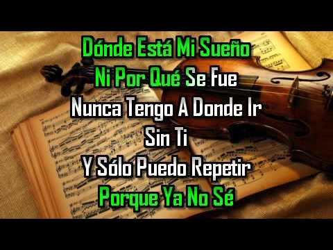 karaoke  Desesperada  Martha Sánchez