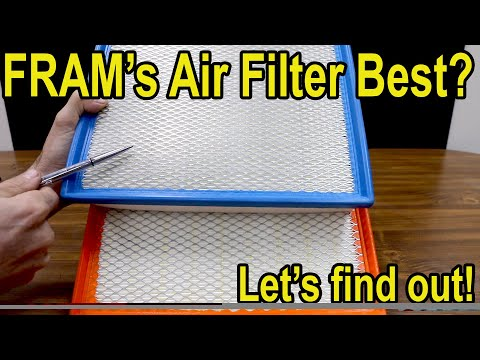 Which Car Air Filter Is Best? Let's Find Out! Fram, K&N, Wix, Purolator, & AC Delco Showdown