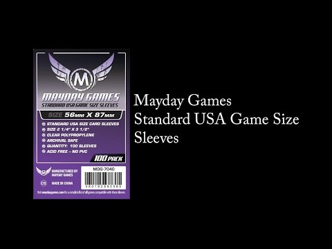 Mayday Games - Standard USA Size Sleeves