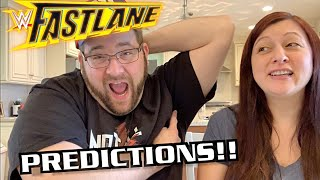 WWE Fastlane 2019 PPV Predictions Feat. THE SLOPPY JOE ARMPIT CHALLENGE