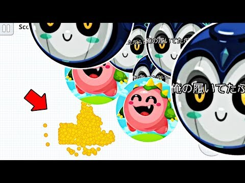 Tommy vs Japs! / Awesome Baits and more! (Agar.io Mobile Gameplay! )