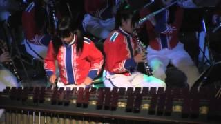 チャールダーシュ(マリンバ・ソロと吹奏楽):柏市立柏高校吹奏楽部2010 thumbnail