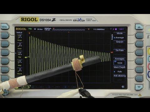 Q-factor measurements of different LW-Antennas