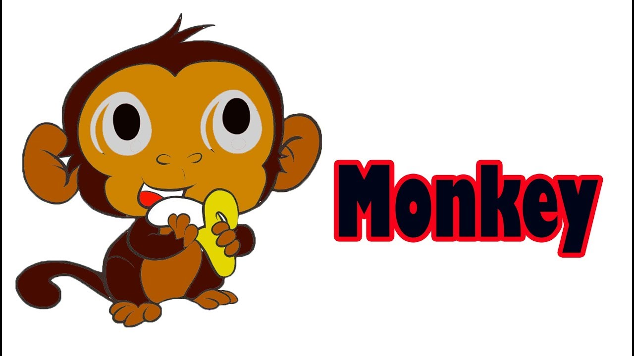 Monkey Drawing For Kid 2019