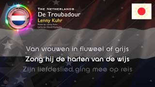 """[1969] Lenny Kuhr - """"De Troubadour"""" (The Netherlands)"""