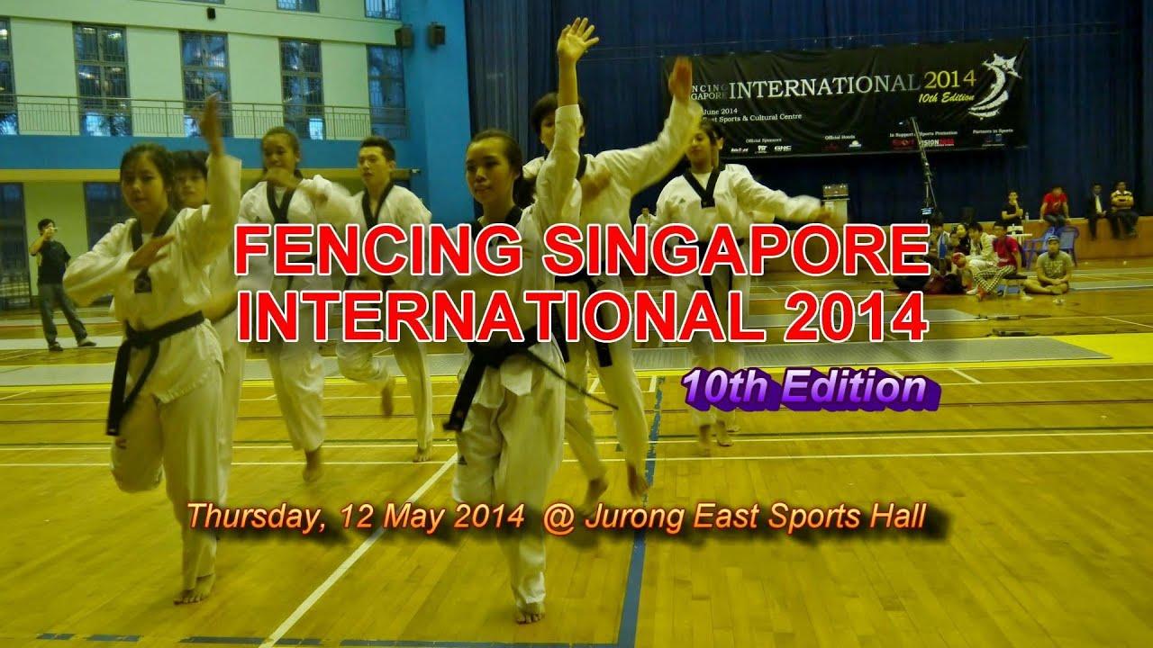 12 Jun'14: Fencing S'pore International 2014-Opening (Demo-2014)