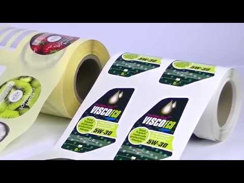LPS215 roll to roll label printing and finishing solution