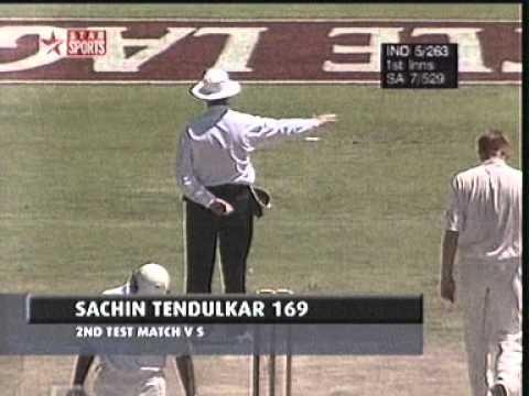 Sachin Tendulkar 169 Capetown v RSA 1997
