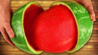 EPIC WATERMELON LIFE HACKS!