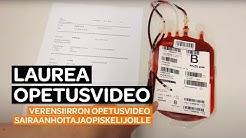 Opetusvideo: Verensiirron opetusvideo sairaanhoitajaopiskelijoille