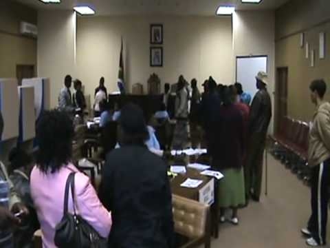 South African Elections 2009 Kokstad, KwaZulu-Natal - [The Opinion News]