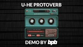 U-He Protoverb DEMO (FREE Reverb VST/AU/AAX Plugin)