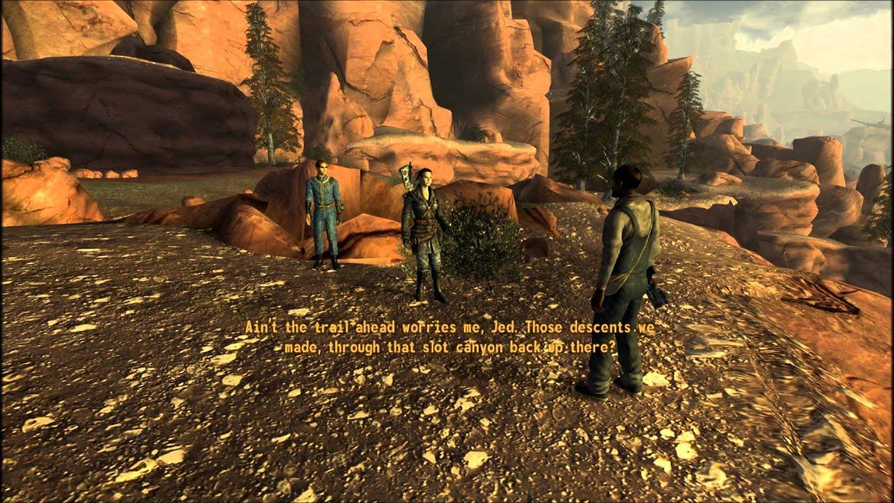 Fallout New Vegas Honest Hearts Arrival At Zion Part 1 Of 3 Ambush