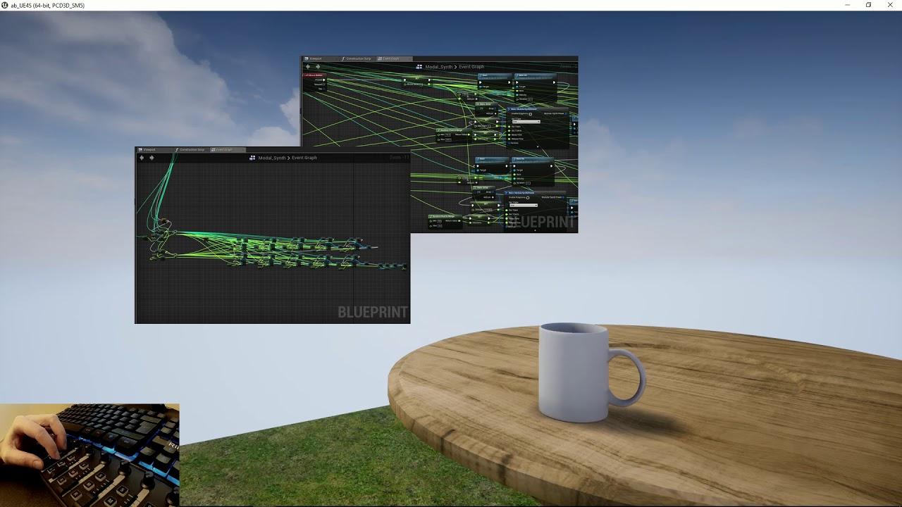 Procedural audio modal mug using the ue4 native audio engine youtube procedural audio modal mug using the ue4 native audio engine malvernweather Gallery