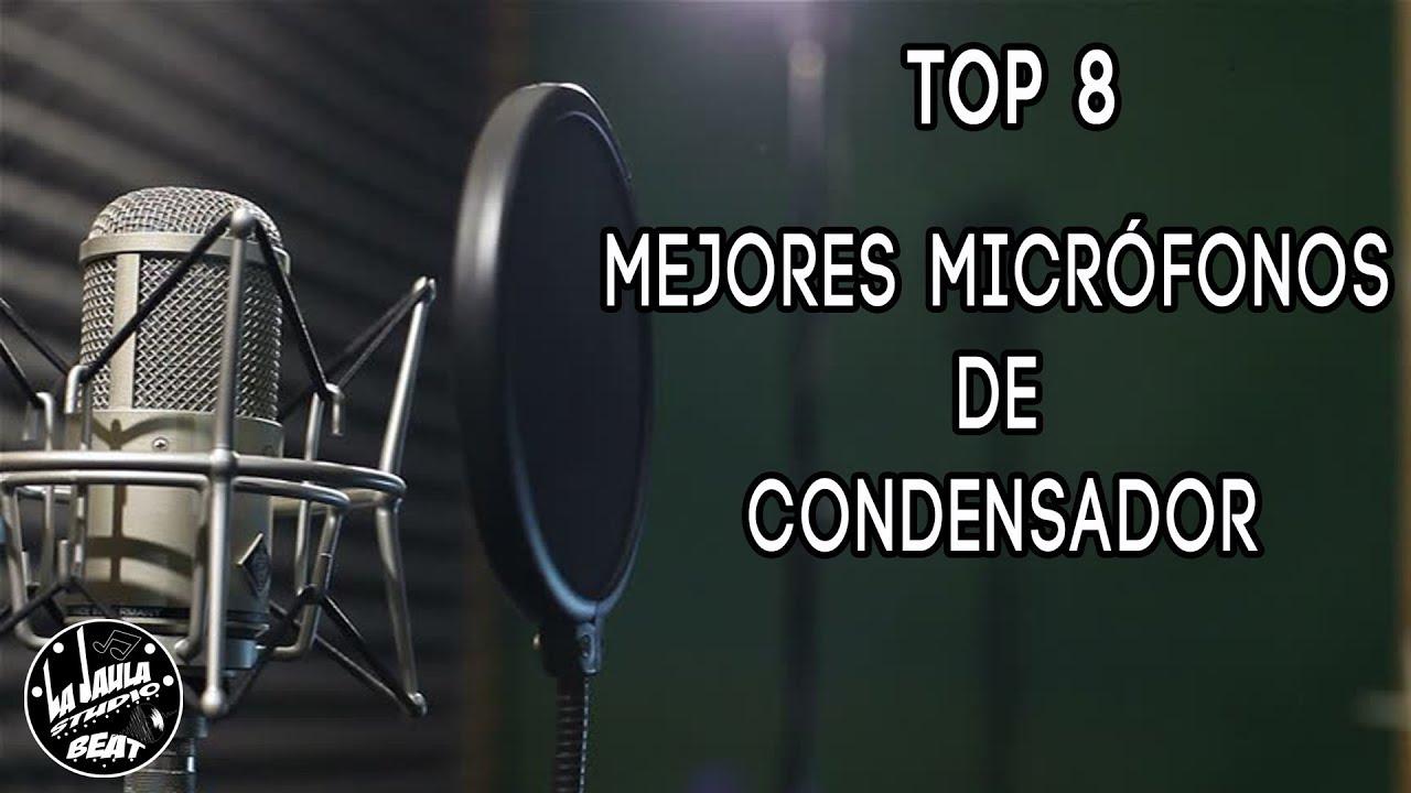 5f1f7fdcb5966 TOP 8 Mejores Micrófonos De Condensador Para Grabar Studio (2018 ...