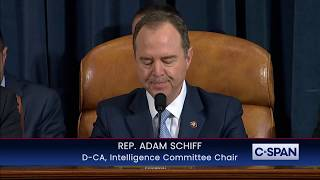 Rep. Adam Schiff Opening Statement