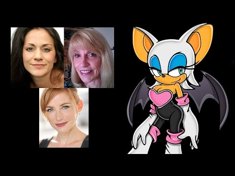 Comparing The Voices - Rouge The Bat