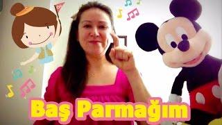 Parmaklar Çocuk Şarkısı I Parmaklarımızı öğrenelim I Baş parmağım I Bebek şarkıları I Nursery Rhymes