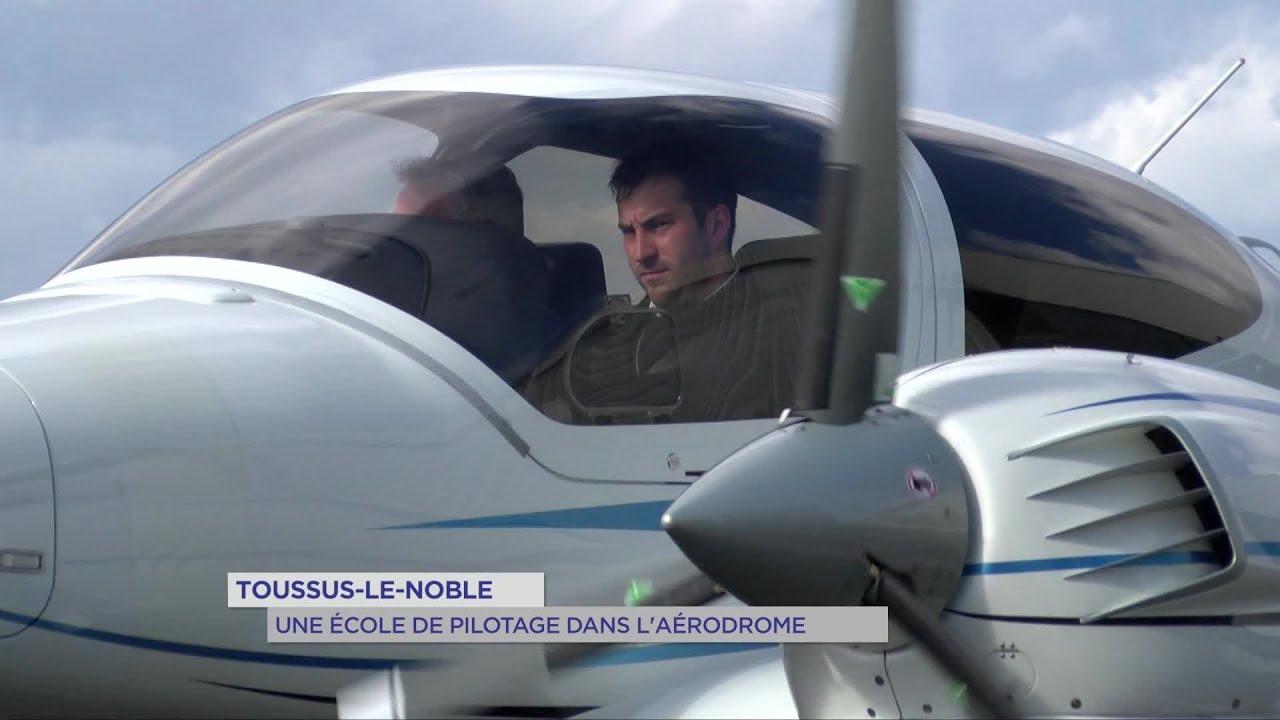 Yvelines | Toussus-le-Noble :Une école de pilotage dans l'aérodrome