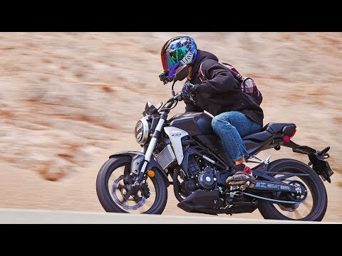 2019 Honda CB300R ChaseOnTwoWheels First Ride