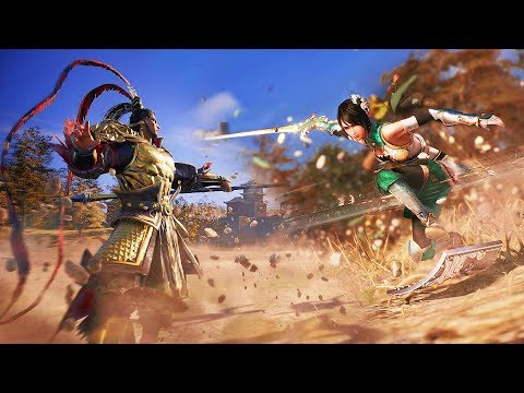 DYNASTY WARRIORS 9 Character Action Trailers Compilation - 真・三國無双8