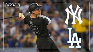 New york yankees @ los angeles dodgers | game highlights 8/23/19