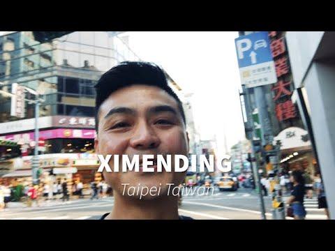 Ximending In Taipei - Taiwan