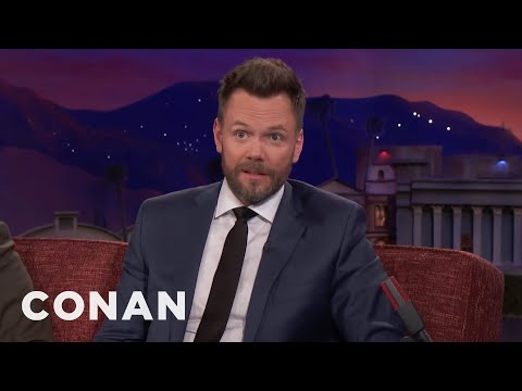 Joel McHale's Rabbits Are Trying To Establish Dominance   CONAN on TBS