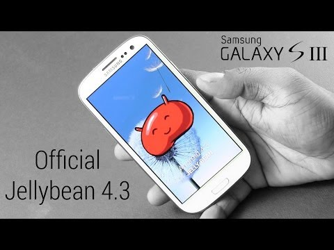 Galaxy S3 - Samsung's Official Android 4.3 Update - How to Install/Flash