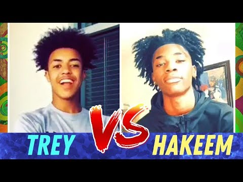 Trey VS Hakeem 🔥 BOYS DANCE BATTLE ~ Best Viral Challenge