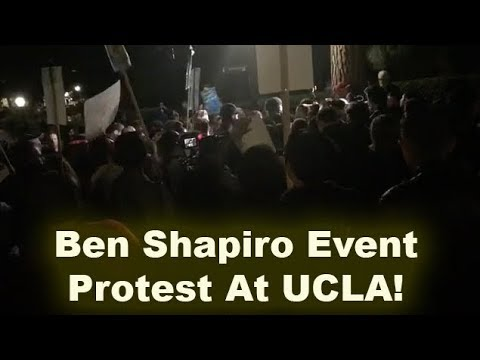 An0maly Live At Ben Shapiro Event Protest On UCLA Campus! (November 2017)